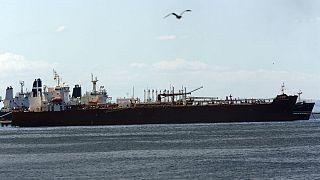 نفتکش ایرانی حامل بنزین در بندر ونزوئلا