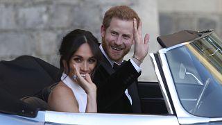 الأمير هاري وزوجته ميغن