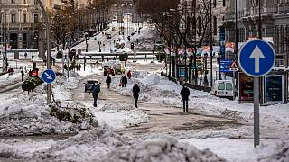 Wetterchaos: Madrid drohen bis zu -14 Grad