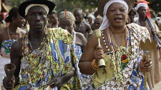The COVID-19 Pandemic Sees Benin's Annual Voodoo Festival Scaled Down