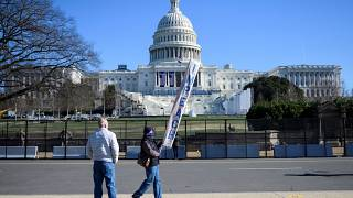 Demonstrant in Washington