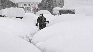 Снегопад в Японии: один погибший, свыше 70 пострадавших
