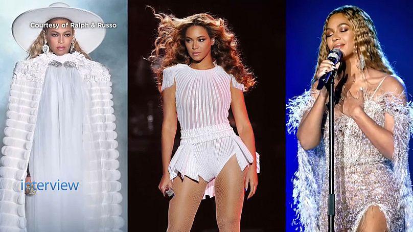 Beyonce vestida por Ralph & Russo