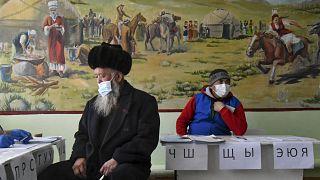 Голосование в селе Горная Маевка