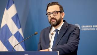 Ο  κυβερνητικός εκπρόσωπος της Ελλάδας, Χρήστος Ταραντίλης