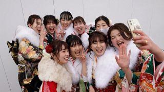 Endlich 20! Junge JapanerInnen feiern den Tag des Erwachsenwerdens