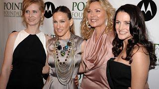 Balról jobbra: Cynthia Nixon, Sarah Jessica Parker, Kim Cattrall és Kristin Davis még 2008-ban.