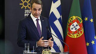 Ο Έλληνας πρωθυπουργός Κυριάκος Μητσοτάκης