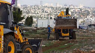 یکی از پروژه های دولت اسرائیل برای احداث واحدهای مسکونی