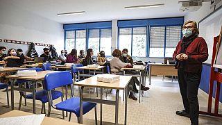 Virus Outbreak Italy Schools