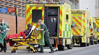 Un hôpital au Royaume-Uni