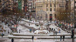 Испания пытается преодолеть последствия снежной бури
