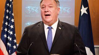 """Mike Pompeo, El jefe de la diplomacia estadounidense, justificó el retorno de la isla a la lista """"por brindar apoyo repetidamente"""" a los terroristas, ofreciéndoles refugio."""