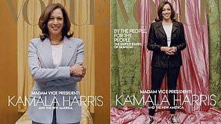 Vogue-Titel mit der designierten US-Vizepräsidentin Kamala Harris