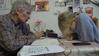 Schulunterricht zu Hause