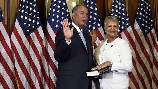 Η 75χρονη Αμερικανίδα βουλευτίνα Μπόνι Γουάτσον Κόλεμαν