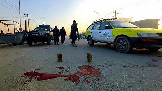 تیراندازی به نظامیان زن در شهر مزارشریف افغانستان