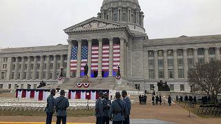 El Capitolio, preparado para la investidura de Joe Biden como presidente de EE.UU.
