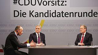 Diskussionsrunde der Kandidaten für den CDU-Vorsitz, 14.12.2020