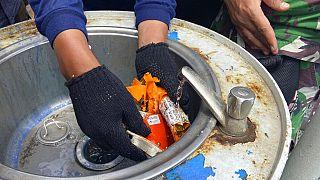 Crash en Indonésie : une boîte noire retrouvée