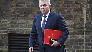 Brandon Lewis, a brit kormány Észak-Írországért felelős minisztere