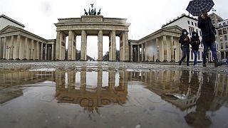Berlin am 12. Januar 2021 - mit düsteren Prognosen von Angela Merkel zu Corona