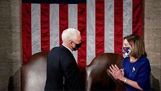 مایک پنس در مجلس نمایندگان آمریکا