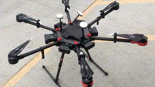 file photo drugs drone