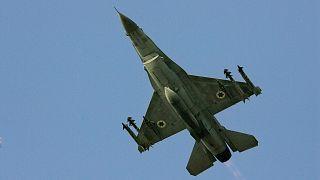 هواپیمای اف۱۶ ارتش اسرائيل