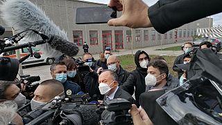 Staatsanwalt Nicola Gratteri beim N'drangheta-Prozess in Lamezia Terme