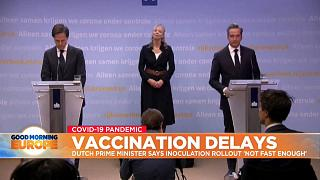 Authorities in the Netherlands talking about vaccine rollout