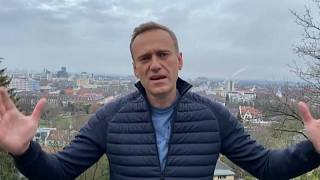 Kremlkritiker Alexej Nawalny in seinem Instagram-Beitrag.