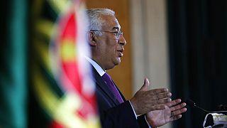 Portugals Ministerpräsident Antonio Costa kündigt harten Lockdow an