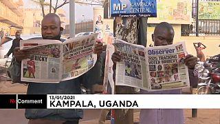 شاهد: التوتر يسود العاصمة الأوغندية كامبالا خشية أن يفسد العنف سيْر الانتخابات الرئاسية