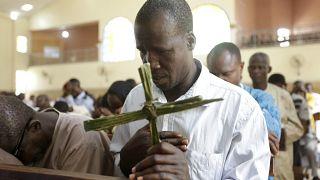 Вербное воскресение в Нигерии
