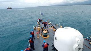 Американский патруль в Гвинейском заливе