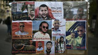 البعض من نشطاء الرأي المعتقلين في الجزائر