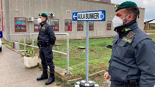 یکی از بزرگترین دادگاههای گروههای مافیایی در ایتالیا