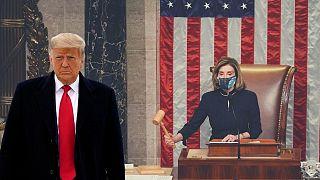 مجلس نمایندگان آمریکا برای دومین بار طرح استیضاح دونالد ترامپ را تصویب کرد