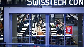 Tests von Studierenden in Lausanne