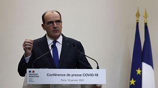 Le Premier ministre français, Jean Castex, le 14 janvier 2021