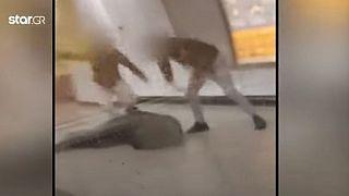 Εικόνα από το βίντεο της επίθεσης