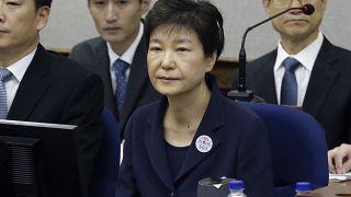 الرئيسة السابقة لكوريا الجنوبية  بارك غوين-هيه