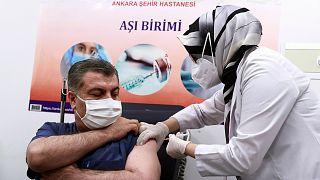 آغاز واکسیناسیون در ترکیه