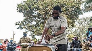 Ugandans vote under heavy security, internet blackout