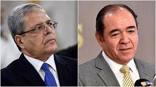 وزير الخارجية الجزائري صبري بوقادوم ونظيره التونسي عثمان الجرندي