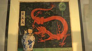 Blue Lotus artwork sells for record 3.2 million euros