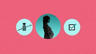 واکسن کرونا برای زنان باردار