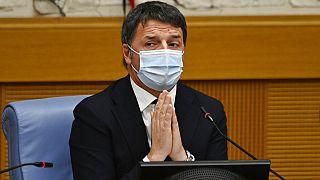 Matteo Renzi a szerdai kormányülést követő sajtótájékoztatón
