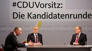 نامزدهای انتخابات درون حزبی اتحادیه دموکرات مسیحی آلمان